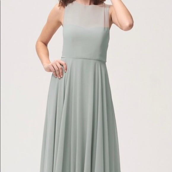 a933d328ed Jenny Yoo Dresses   Skirts - Jenny Yoo Elizabeth Dress in Morning Mist